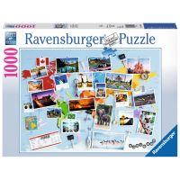 Ravensburger Puzzle Cesta kolem světa 1000 dílků