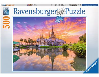 Ravensburger Puzzle Chrám 500 dílků
