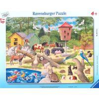 Ravensburger Puzzle Dětská zoo 47 dílků