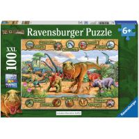 Ravensburger Puzzle Dinosauři 100 XXL dílků