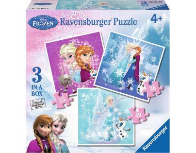 Ravensburger Disney Ledové království 3 x