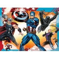 Ravensburger Puzzle Disney Marvel Avengers 4 x puzzle v boxu 4