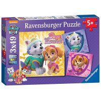 Ravensburger Puzzle Disney Tlapková patrola 3 x 49 dílků