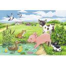 Ravensburger Puzzle 075829 Domácí zvířátka 2x12 dílků 2