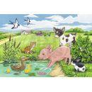 Ravensburger Puzzle Domácí zvířátka 2 x 12 dílků 2