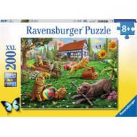 Ravensburger Puzzle Hraní na hřišti 200 dílků
