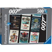 Ravensburger James Bond 007 Retro 500 dílků