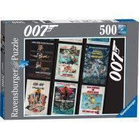 Ravensburger James Bond 007 Retro 500 dílků