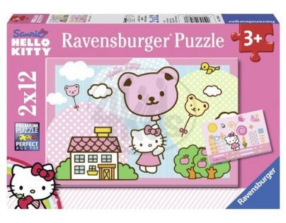 Ravensburger Hello Kitty se vznáší 2 x 12 dílků
