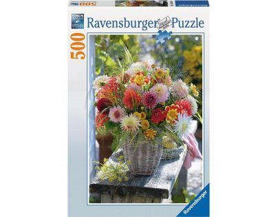 Ravensburger Kytice z jiřin 500 dílků