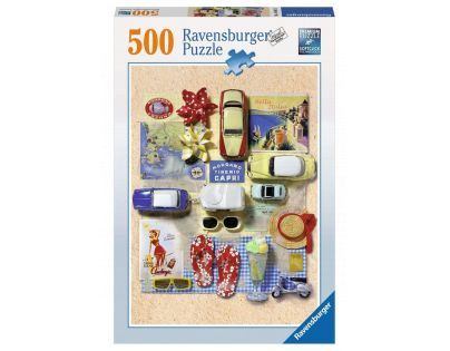 Ravensburger Léto v Itálii 500 dílků