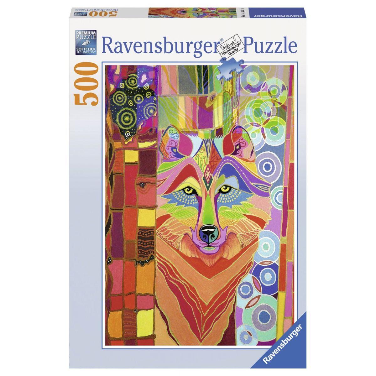 Ravensburger Mystický vlk 500 dílků