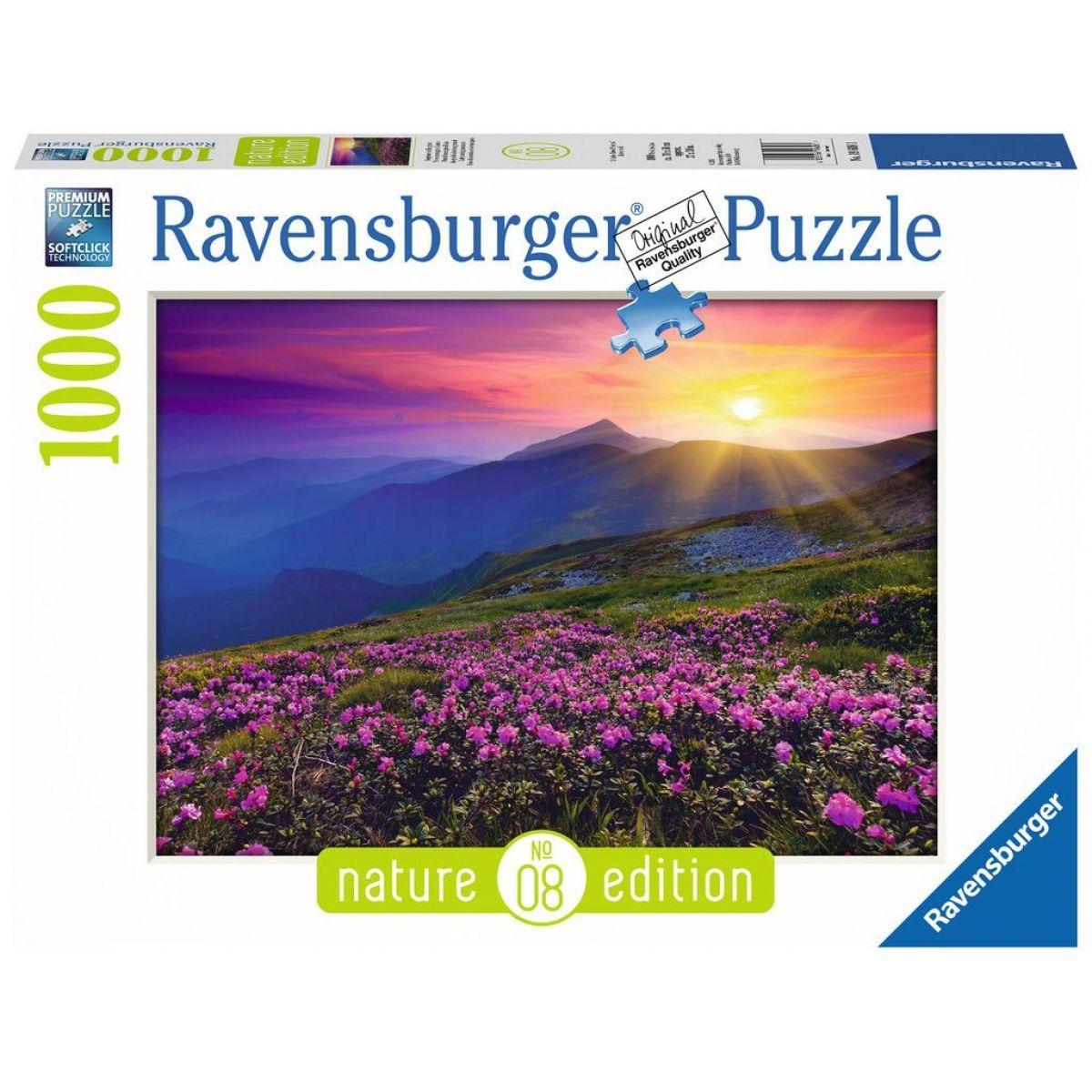 Ravensburger Puzzle Nature Edice 196081 Horská louka v červánkách 1000 dílků
