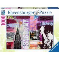 Ravensburger Puzzle New York koláž 1000 dílků