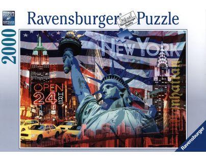 Ravensburger Puzzle New York koláž 2000 dílků