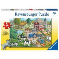 Ravensburger Puzzle Okolí farmy 60 dílků