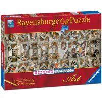 Ravensburger puzzle Panorama Sixtinská kaple 1000 dílků