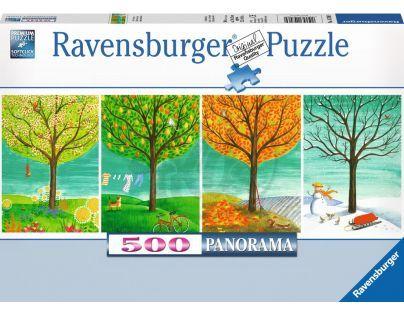Ravensburger Puzzle Panorama Roční období 500 dílků