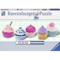 Ravensburger Puzzle Panorama Sladké muffiny 500 dílků