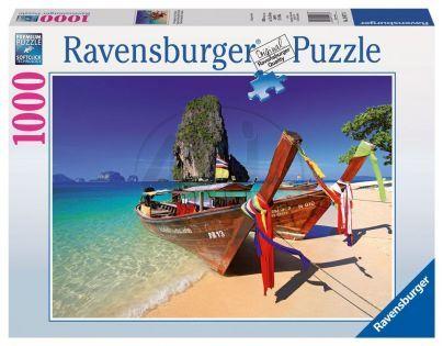 Ravensburger Pláž s lodí 1000 dílků