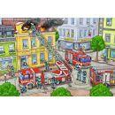 Ravensburger Policie a hasiči 2 x 12 dílků 2
