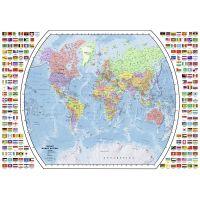 Ravensburger Puzzle Politická mapa světa 1000 dílků