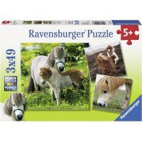 Ravensburger Poníci 3 x 49 dílků