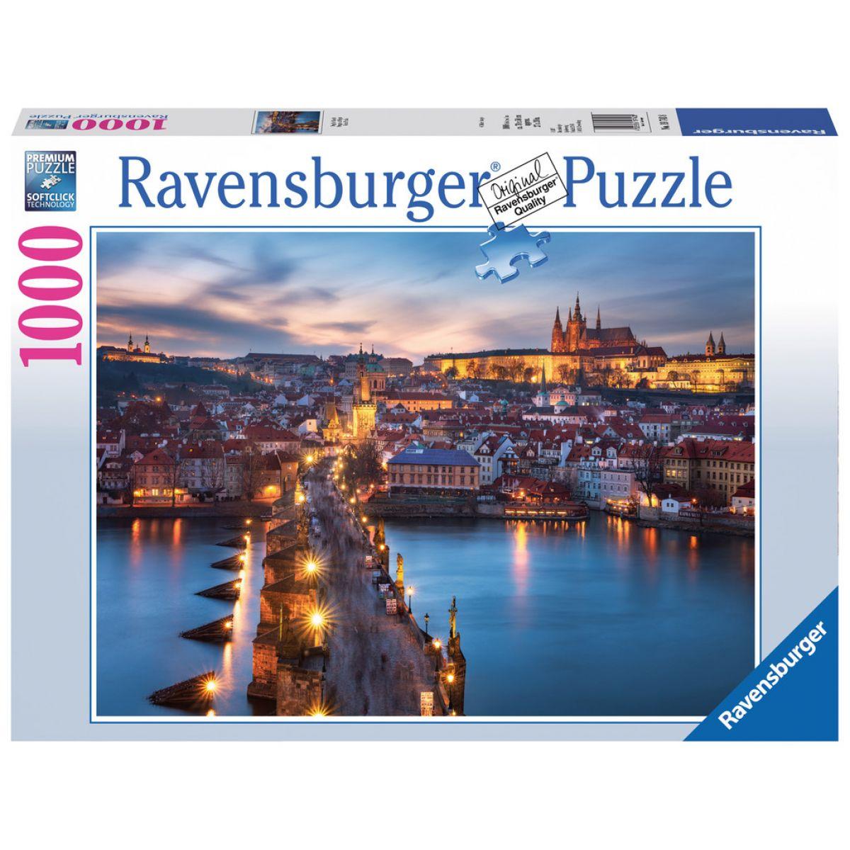 Ravensburger Puzzle Praha v noci 1000 dílků
