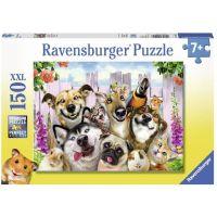 Ravensburger Puzzle Premium 100453 Blázniví mazlíčci 150 XXL dílků