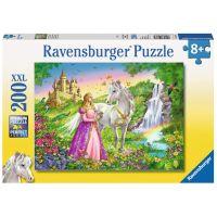 Ravensburger Puzzle Premium 126132 Princezna s koněm 200XXL dílků