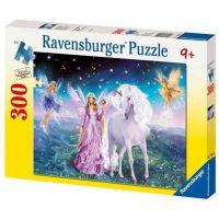 Ravensburger Puzzle Premium 130450 Kouzelný jednorožec 300XXL dílků