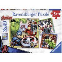 Ravensburger Puzzle Premium 80403 Disney Marvel Avengers 3x49 dílků