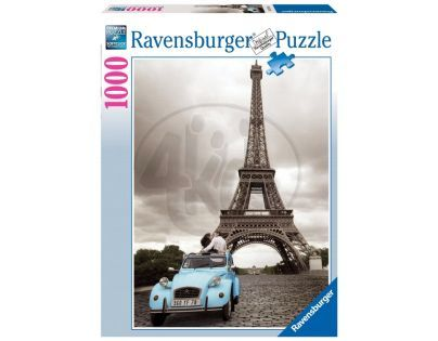 Ravensburger Romantická Paříž 1000 dílků