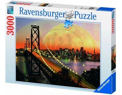 Ravensburger San Francisco v noci 3000 dílků