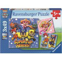 Ravensburger puzzle Tlapková Patrola 3 x 49 dílků