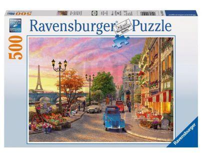 Ravensburger Večer v Paříži 500 dílků