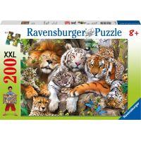 Ravensburger puzzle 12721 Velká kočka 200 XXL dílků