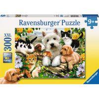 Ravensburger Puzzle Veselé přátelství zvířat 300 dílků