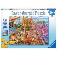 Ravensburger Puzzle XXL Dobrodružství na pirátské lodi 100 dílků