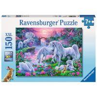 Ravensburger Puzzle XXL Jednorožci při západu slunce 150 dílků