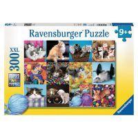 Ravensburger XXL Kočičí koláž 300 dílků