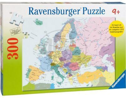 Ravensburger XXL Mapa Evropy 300 dílků