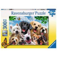 Ravensburger Puzzle XXL Psí úsměvy 300 dílků