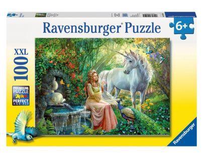 Ravensburger XXL V oblasti jednorožce 100 dílků