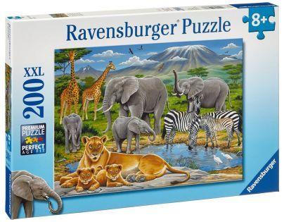 Ravensburger XXL Zvířata v Africe 200 dílků