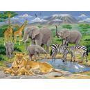 Ravensburger XXL Zvířata v Africe 200 dílků 2