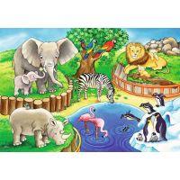 Ravensburger Puzzle Zvieratá v ZOO 2 x 12 dielikov 2
