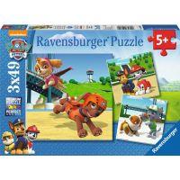 Ravensburger Tlapková Patrola Psí tým 3 x 49 dílků