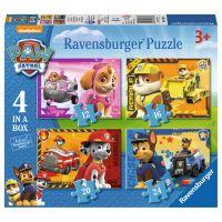 Ravensburger Tlapková Patrola puzzle 4 v 1