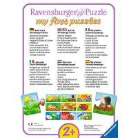 Ravensburger Puzzle Zvieratá na záhrade 9 x 2 dielikov 2